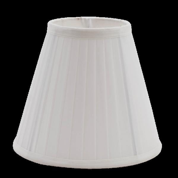 Ypperlig Lampeskjerm, plissè, liten hvit E14 - La vita è Bella SO-75